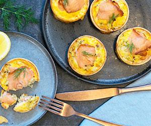 Baked egg tart thumbnail