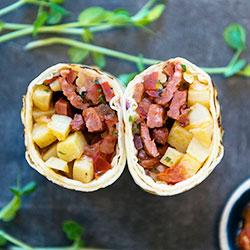 Breakfast burrito thumbnail