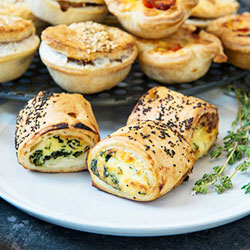 Spinach and ricotta roll thumbnail