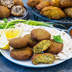 Sweet potato falafel thumbnail