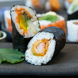 Hand rolled sushi thumbnail