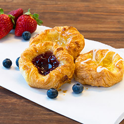 House baked Danish pastries  thumbnail