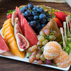 Seasonal fruit platter to share thumbnail
