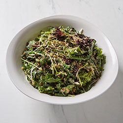 Leafy greens and sprouts salad thumbnail