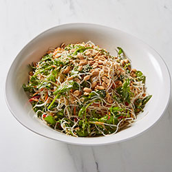 Vermicelli noodles and shredded wombok salad thumbnail