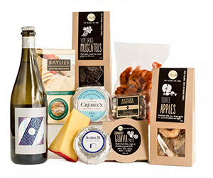 Celebration cheese and wine hamper thumbnail