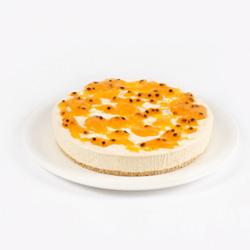Passionfruit Mango Cheesecake - large thumbnail