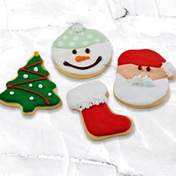 Christmas iced cookies thumbnail