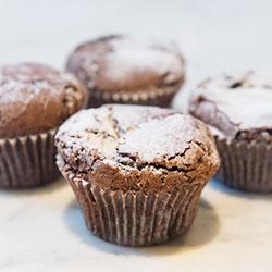 Gluten free chocolate muffin thumbnail