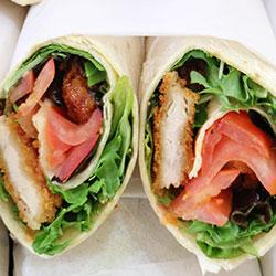 Panko chicken press sandwich thumbnail