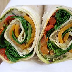 Roasted vegetable roti thumbnail