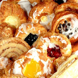 Assorted Danish pastries thumbnail