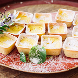 Baked citrus mini tartlets thumbnail