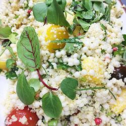 Mediterranean cous cous salad thumbnail