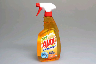 Ajax spray and wipe trigger - ocean fresh 500ml thumbnail