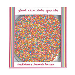Freckleberry Milk Chocolate Speckles - 150g thumbnail