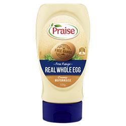 Mayonnaise Squeeze - Praise - 335g thumbnail