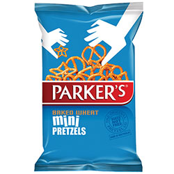 Parkers Pretzels Mini Wheat - 225g thumbnail