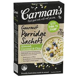 Porridge Sachets - Carman's - 40g thumbnail