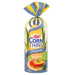 Real Foods Corn Thins - 150g thumbnail