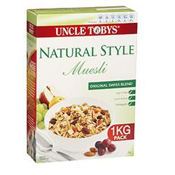 Uncle Toby's Original Swiss Muesli - 1kg thumbnail