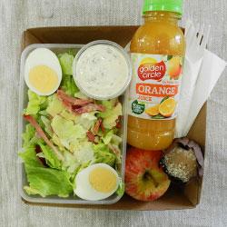 Chicken Caesar salad lunch box thumbnail