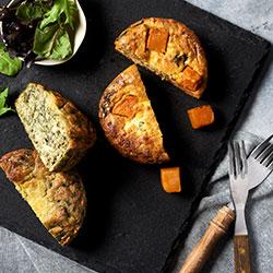 Roast vegetable frittata thumbnail