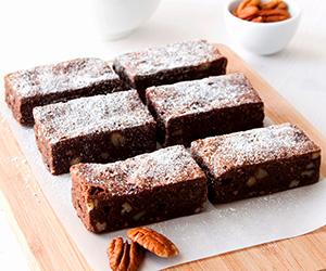 Chocolate and pecan brownie thumbnail