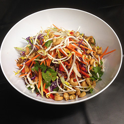 Asian style slaw salad thumbnail
