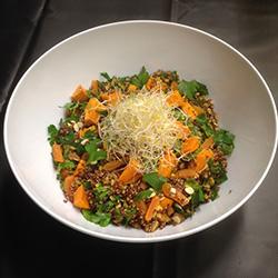 Red quinoa salad thumbnail