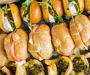Savoury vegetarian box thumbnail
