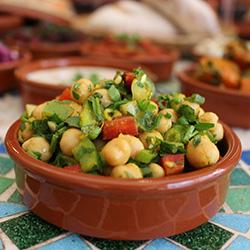Chickpeas salad thumbnail
