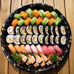 Assorted roll platter - serves 5 to 6 thumbnail