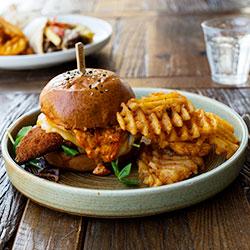 Burger and fries thumbnail