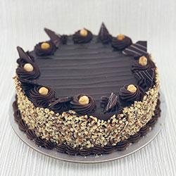 Ferrero Rocher cake thumbnail