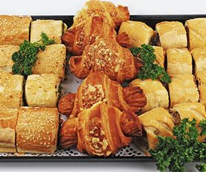 Savoury pastry platter thumbnail