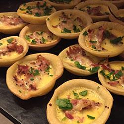 Breakfast quiches thumbnail