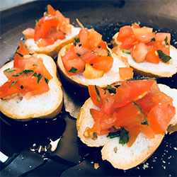 Traditional bruschetta - mini thumbnail