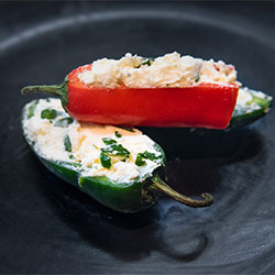 Stuffed peppers with fetta and herbs - mini thumbnail