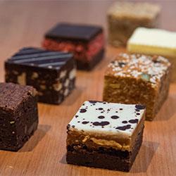 Assorted sweet slices - mini thumbnail