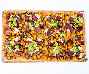 Pissaladiere (french pizza) - serves 8 to 10 thumbnail