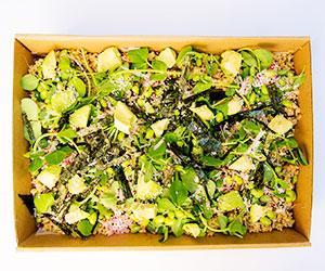 Tamari brown rice salad thumbnail
