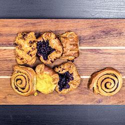 Assorted Danish pastries - mini thumbnail