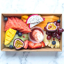 Fruit platter with a seasonal twist thumbnail
