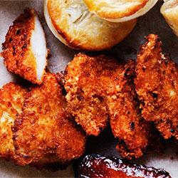 Katsu chicken bites with garlic aioli thumbnail