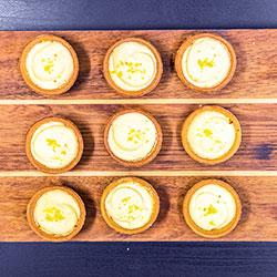 Key lime cheese cake tarts - mini thumbnail
