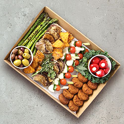 Saturday Mediterranean platter - serves 10 thumbnail