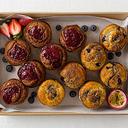 Soft centred muffins thumbnail