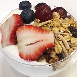 Berries, muesli and yoghurt cups thumbnail