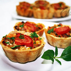 Vegetarian tart thumbnail